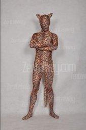 Animal Spandex Tiger Zentai Suit [a092] - $39.00 : Buy Zentai,zentai suits,zentai costumes,lycra bodysuit,bodysuit spandex,cheap,zentai wholesale,from zentaiway.com | animal zentai catsuits | Scoop.it