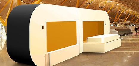 Une cabine conçue pour faire la sieste à l'aéroport | Sélections de Rondement Carré sur                                                           la créativité,  l'innovation,                    l'accompagnement  du projet et du changement | Scoop.it