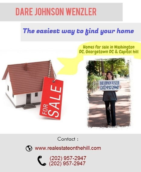 Expecting to sell a property in Georgetown? Contact : Dare Johnson Wenzler   Real Estate On (and off!) The Hill   Scoop.it