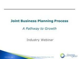 Joint Business Planning Research Findings & Report   Industry News   Scoop.it