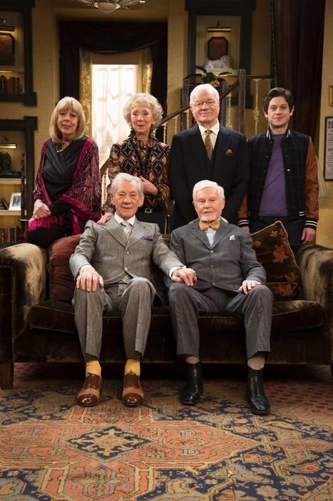 Watch Ian McKellen, Derek Jacobi, and the Cast of ViciousTalk About the Series Finale | Gay News | Scoop.it
