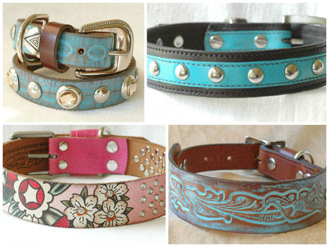 Recycled Leather gets a new Leash on life! | Crafts To Make | Scoop.it