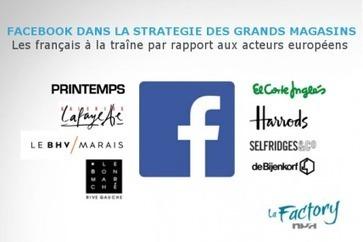 Facebook : un réseau sous exploité par les grands magasins français | digital mentalist  and cool innovations | Scoop.it