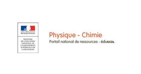 Des ressources numériques pour les nouveaux programmes-Physique-Chimie-Éduscol | veille du CDI par discipline | Scoop.it