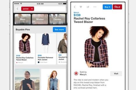 Infographie – Pinterest et les marques : les chiffres à connaître à l'heure du ecommerce ! | MyEcopage | Scoop.it
