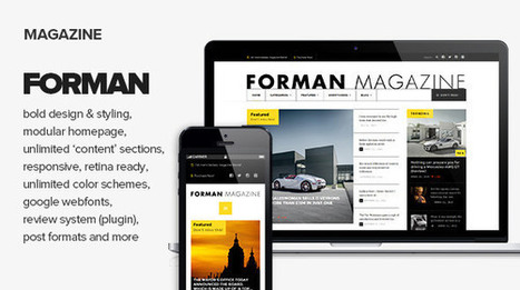 Forman - Responsive News, Magazine and Blog Theme | Blogger themes | Scoop.it
