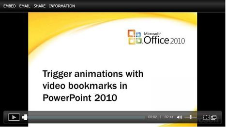 Trigger animations to call out important parts of your slide presentation | Digital Presentations in Education | Scoop.it