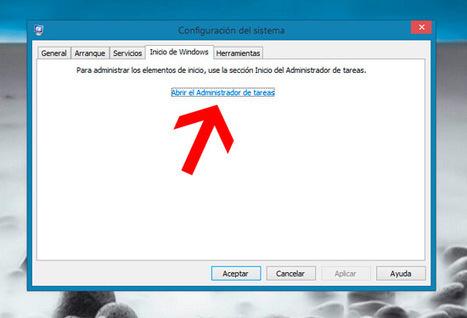 Arranque lento: Reducir la cantidad de programas que se inician con Windows? - Tecnología Fácil | Salud Publica | Scoop.it