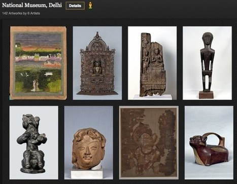 Clic France / Google Art Project s'enrichit de plus de 2 000 reproductions d'oeuvres d'art indiennes et offre dorénavant 70 expositions virtuelles | Clic France | Scoop.it