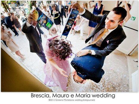 Mauro e Maria reportage di matrimonio a Brescia | Girolamo Monteleone wedding photojournalist | abito da sposa | Scoop.it