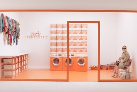 Hermès Launches Luxury Laundromat for Silk Scarves | The business of Luxury | Scoop.it