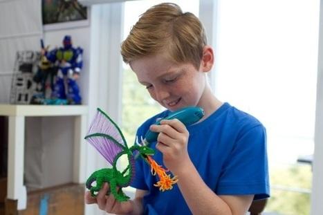 3Doodler Start : le stylo 3D pour enfants ! | FabLab - DIY - 3D printing- Maker | Scoop.it