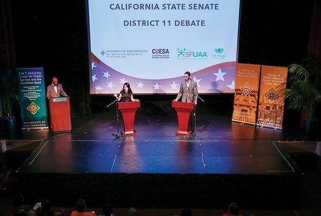 Final State Senate Campaign Push on Display | USF in the News | Scoop.it
