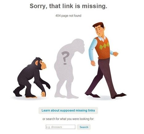 Anatomy of a 404 Error Page inspired from the Best 404 Pages | Envato Notes | HTML5 CSS3 | Scoop.it