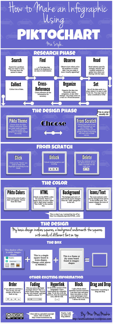 Educational Technology and Mobile Learning: infographic making tools | Edtech PK-12 | Scoop.it