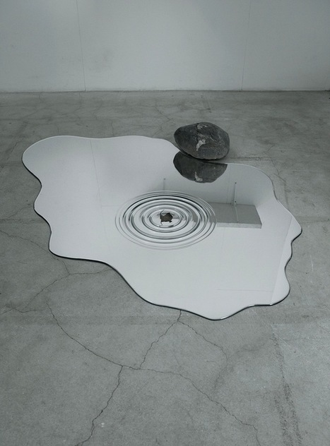 Puddle-Shaped Mirrors Look Just Like Actual Water | Culture and Fun - Art | Scoop.it