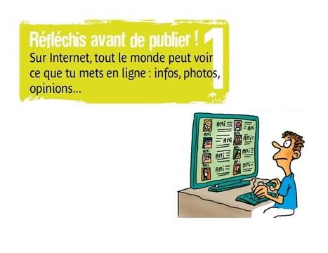 10 Conseils de la CNIL pour rester net sur le WEB | Droits et devoirs liés à l'usage de l'Internet et du Web | Scoop.it