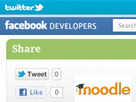 Come aggiungere un pulsante Twitter o Facebook all'interno di Moodle! | Elearning & Moodle | Scoop.it
