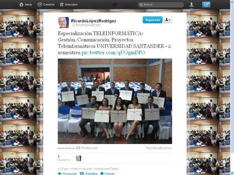 QUEDAN 3 CUPOS. NUEVA COHORTE...EMPEZAREMOS ESTE 8 DE JUNIO 2012. ESPECIALIZACIÓN EN TELEINFORMÁTICA - UDES, CÚCUTA, COLOMBIA - 0057 5792611 | EMPRE´TICS | Scoop.it