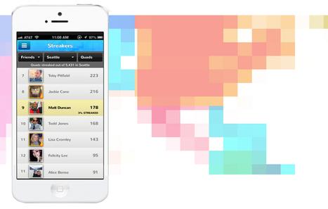 Quadstreaker, découvrir le monde en coloriant des carrés   Ebook   Scoop.it