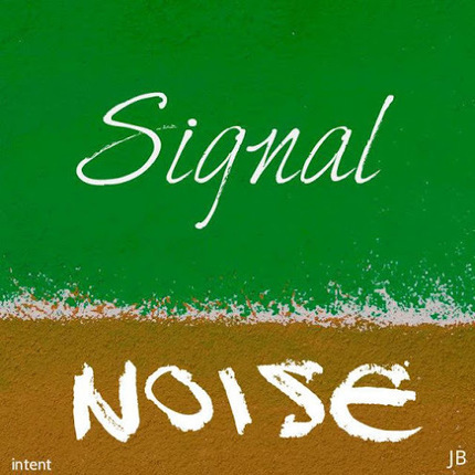 Distinguish between signal and noise with a discernment to locate the still in… | Art Therapy in Action | Scoop.it