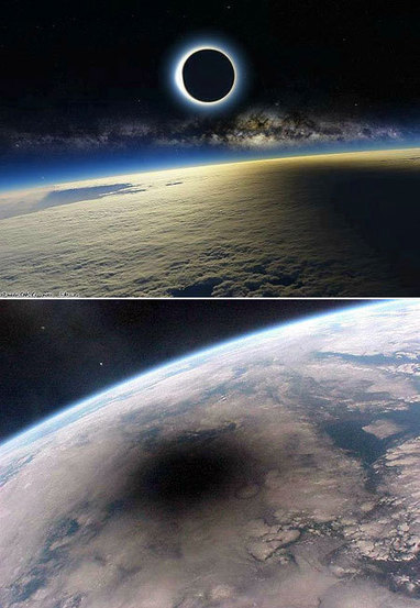 What A Solar Eclipse Looks Like From Space | Amazing Science | Scoop.it