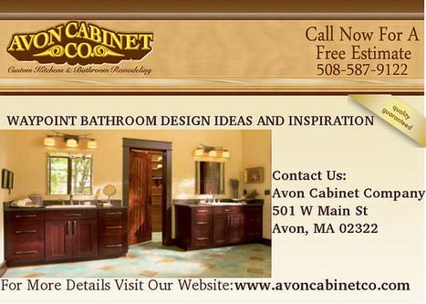 Waypoint Bathroom Design Ideas and Inspiration in Avon Massachusetts | Custom Kitchen & Bath Remodeling in Avon Massachusetts | Scoop.it