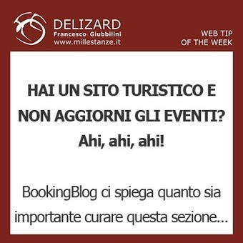 #10 DELIZARD WEB TIP – Curare la pagina Eventi del proprio sito ... | Content Marketing | Scoop.it