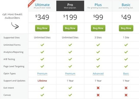 OptinMonster Review : Best Lead Generation WordPress Plugin For Smart Bloggers | Interesting and Useful WordPress Plugins | Scoop.it