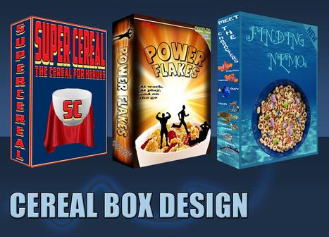 Cereal Box Design   8th Grade STEM   Scoop.it