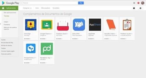 Documentos y Hojas de Cálculo de Google en Android ahora permiten integrar complementos | Aprendiendoaenseñar | Scoop.it