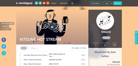 With Soundsgood, Create And Publish Playlists On All Streaming Services | E-Music ! | Scoop.it