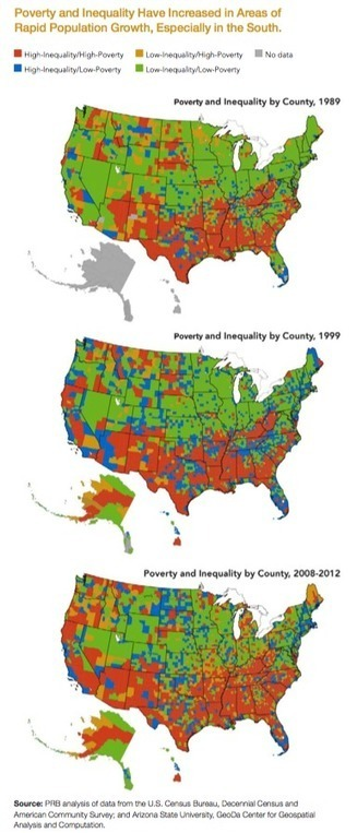 Where Do Poverty and Inequality in the U.S. Overlap? | LINK-MC.COM Provides Mobile Access to Resources and Support Services for The Homeless | Scoop.it