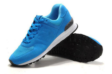 Mens new balance MS574DGB Sonic royal Blue Grey Shoes | share list | Scoop.it