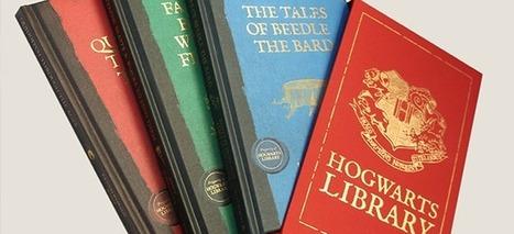 Bloomsbury irá lançar edições ilustradas dos livros da Biblioteca de Hogwarts! | Biblioteca | Scoop.it