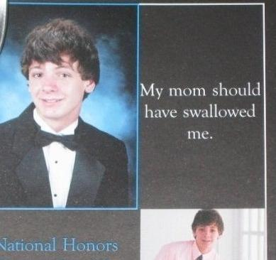 [UPDATED] 20 yearbook quotes and photos that don't bode well for our future.   total nonsense, everything i like   Scoop.it
