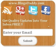 Stylish Email Subscription Box With Social Media - Blogs Daddy | Blogger Tricks, Blog Templates, Widgets | Scoop.it
