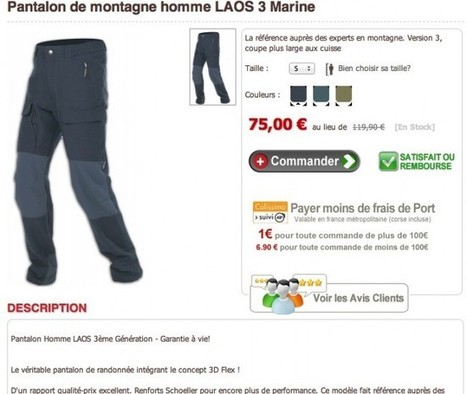 Petite Critique de Site : Cimalp.fr | WebZine E-Commerce &  E-Marketing - Alexandre Kuhn | Scoop.it