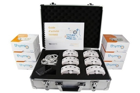Pack éducation de 6 robots Thymio 2 avec valise de transport | Courants technos | Scoop.it