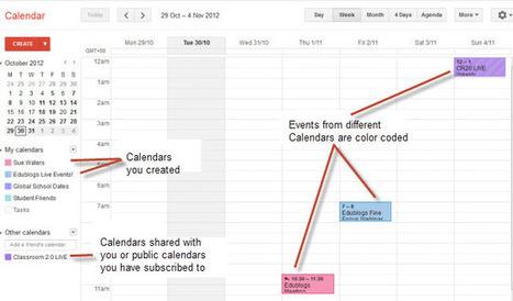 The Educator's Guide to Google Calendar | The Edublogger | Reading for English teachers | Scoop.it