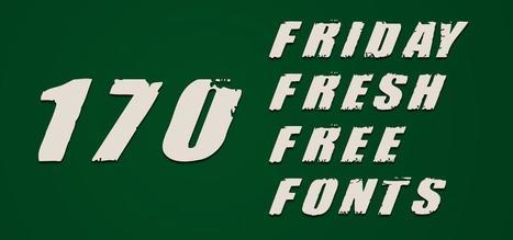 Friday Fresh Free Fonts #170 | Abduzeedo | Graphic Design Inspiration and Photoshop Tutorials | Ray-Mond-Sky | Scoop.it