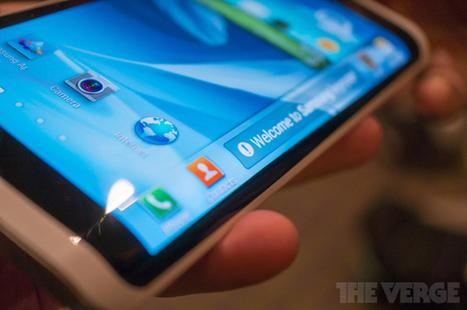 Samsung va lancer un smartphone à écran incurvé dès Octobre | Actualité digimobile | Scoop.it