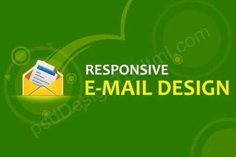 How to Design a Responsive HTML Email | website design | Scoop.it