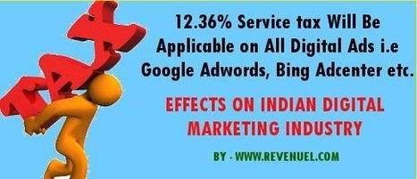 From Now On 12.36% Service tax Will Be Applicable on All Digital Ad Spends | Ninja SEO and SMO Tips | Scoop.it