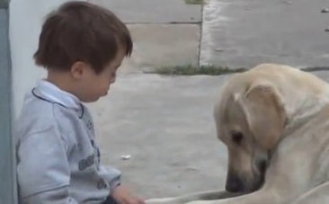 Two Dogs, Two Special Needs Kids and Two Happy Endings | This Gives Me Hope | Scoop.it