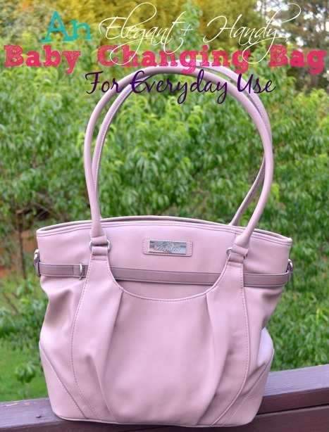 An Elegant & Handy Baby Changing Bag For Everyday Use - Miss Frugal Mommy | Babymoov | Scoop.it