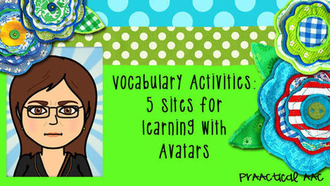 Vocabulary Activities: 5 Sites for AAC Learning with Avatars | AAC & Language Intervention | Scoop.it