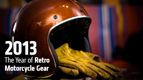 2013: The Year of Retro Motorcycle Gear - RideApart | Ductalk Ducati News | Scoop.it