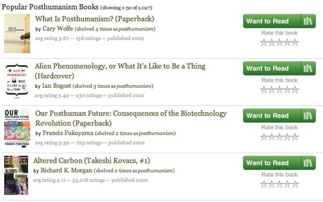 Popular #Posthumanism Books   Cyborgs_Transhumanism   Scoop.it