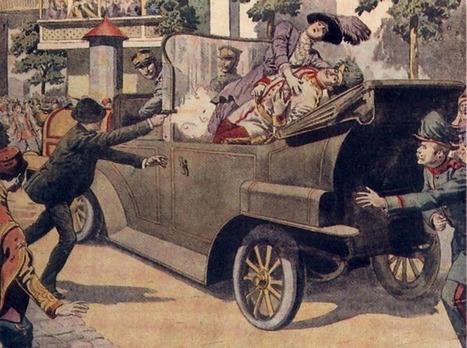 28 juin 1914 : Assassinat d'un archiduc à Sarajevo | Racines de l'Art | Scoop.it